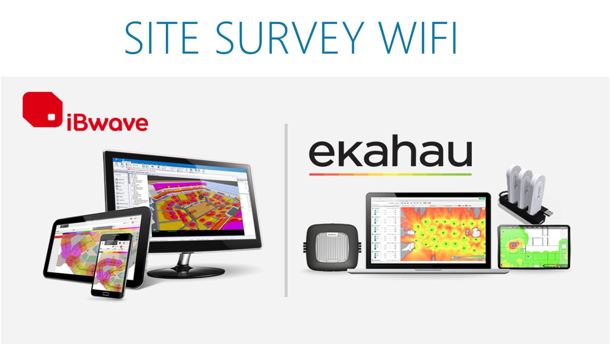 Servicios de Site Survey iBwave y Ekahau