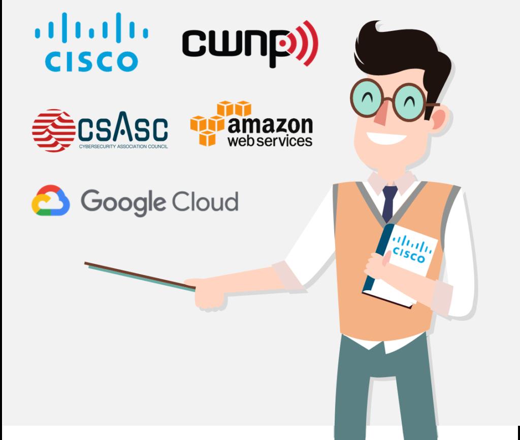 Cursos Cisco, CWNP, AWS